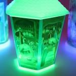 Lampiony adwentowe roratnie świecące nocą - sprzedaż Chełmek